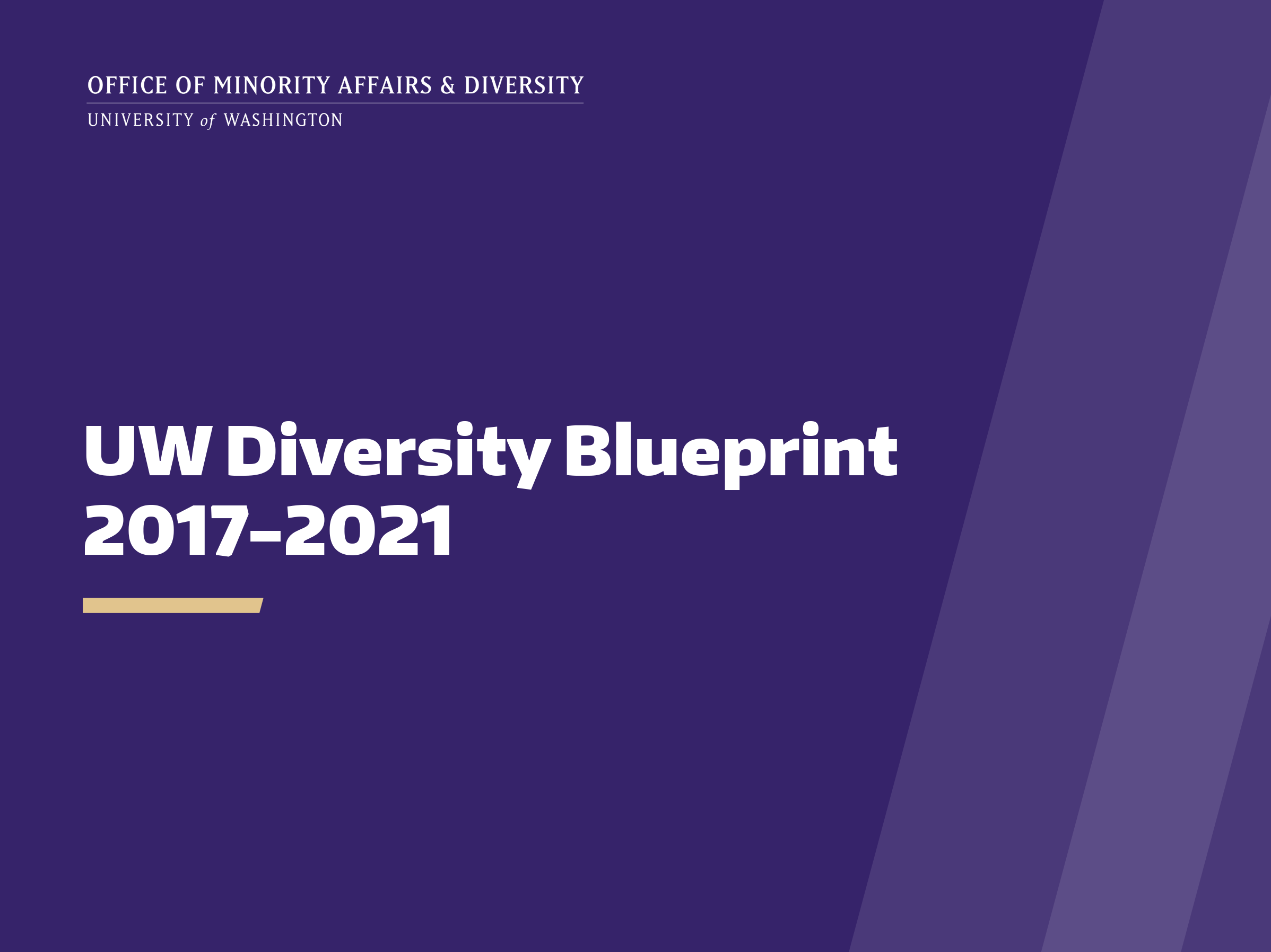 Diversity blueprint diversity at the uw blueprint links malvernweather Choice Image