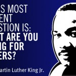 MLK quote and illustration