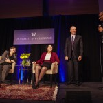Picture of Provost Cauce, Justice Sotomayor, President Young, Dean Taylor