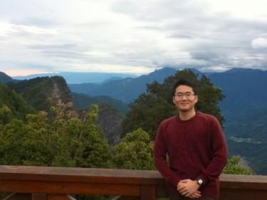 UW undergraduate Benjamin Lee in Taiwan for study abroad.