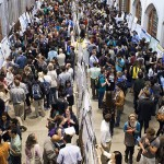 Photo of Mary Gates Hall Commons during the Undergraduate Research Symposium