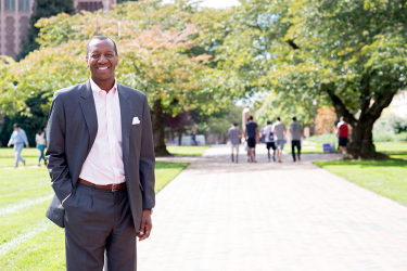 Portrait of Vice Provost and Dean Ed Taylor