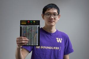 Portrait of Evan Wang.