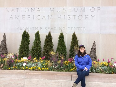 Jasmine Graham visits the National Museum of American History.