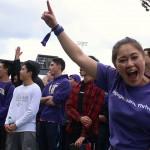 Students at 2018 Husky Kickoff
