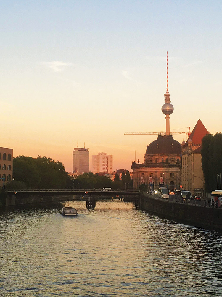 View of Museum Island