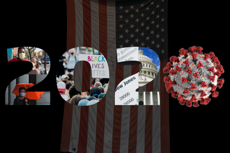 Graphic for course called 2020: Is this the end? A course on America