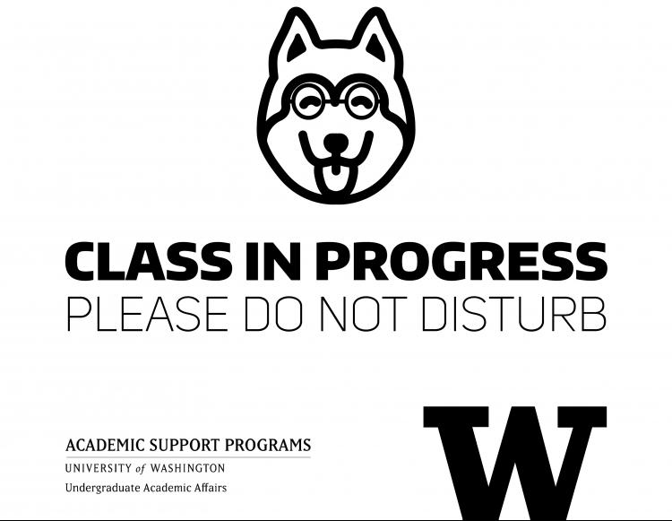 Class in progress - black