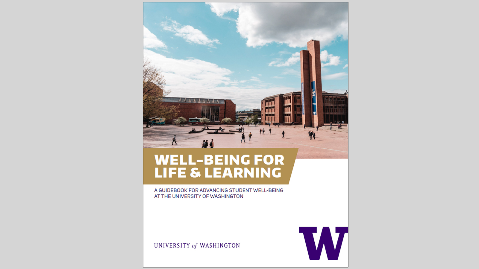 Cover of Well-being for Life and Learning Guidebook