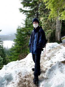 Photo of Daniel Chen at Pratt Lake