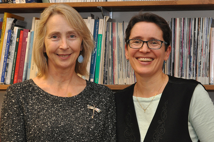 photo of Vicky Lawson and Sarah Elwood