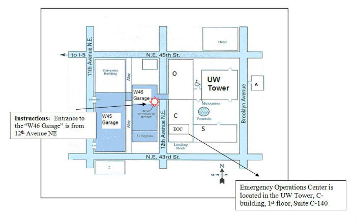 Map to EOC