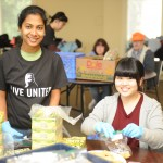 MLK Day 2015 Food volunteers