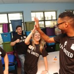Emerging Leaders Hi Five MLK Day 2015
