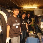 Youth Care clothing bank volunteers Youth Care MLK Day 2015
