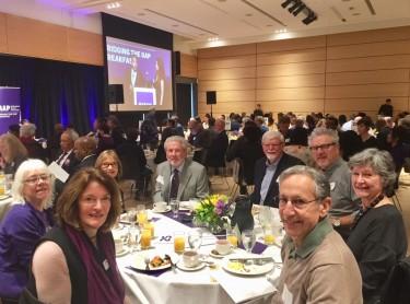 UWRA board members at 2017 MAP breakfast