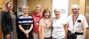Retired Adult volunteers