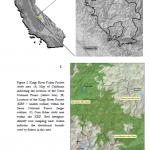 map of sierra nevadas near kings river