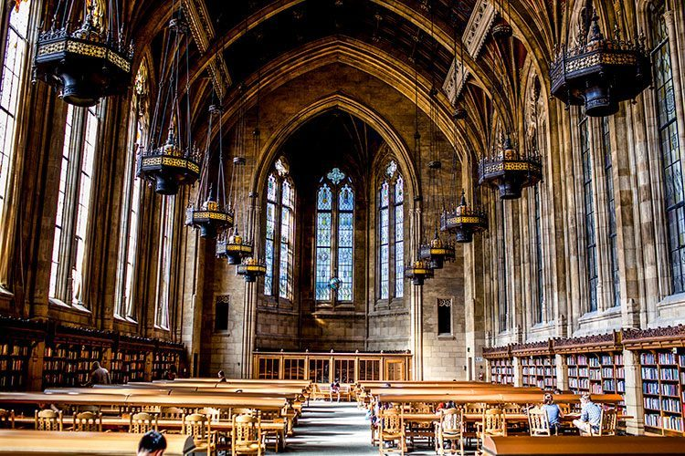 The reading room at Suzzallo Library