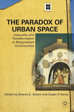 The cover of 'The Paradox of Urban Space: Inequity and Transformation in Marginalized Communities.'