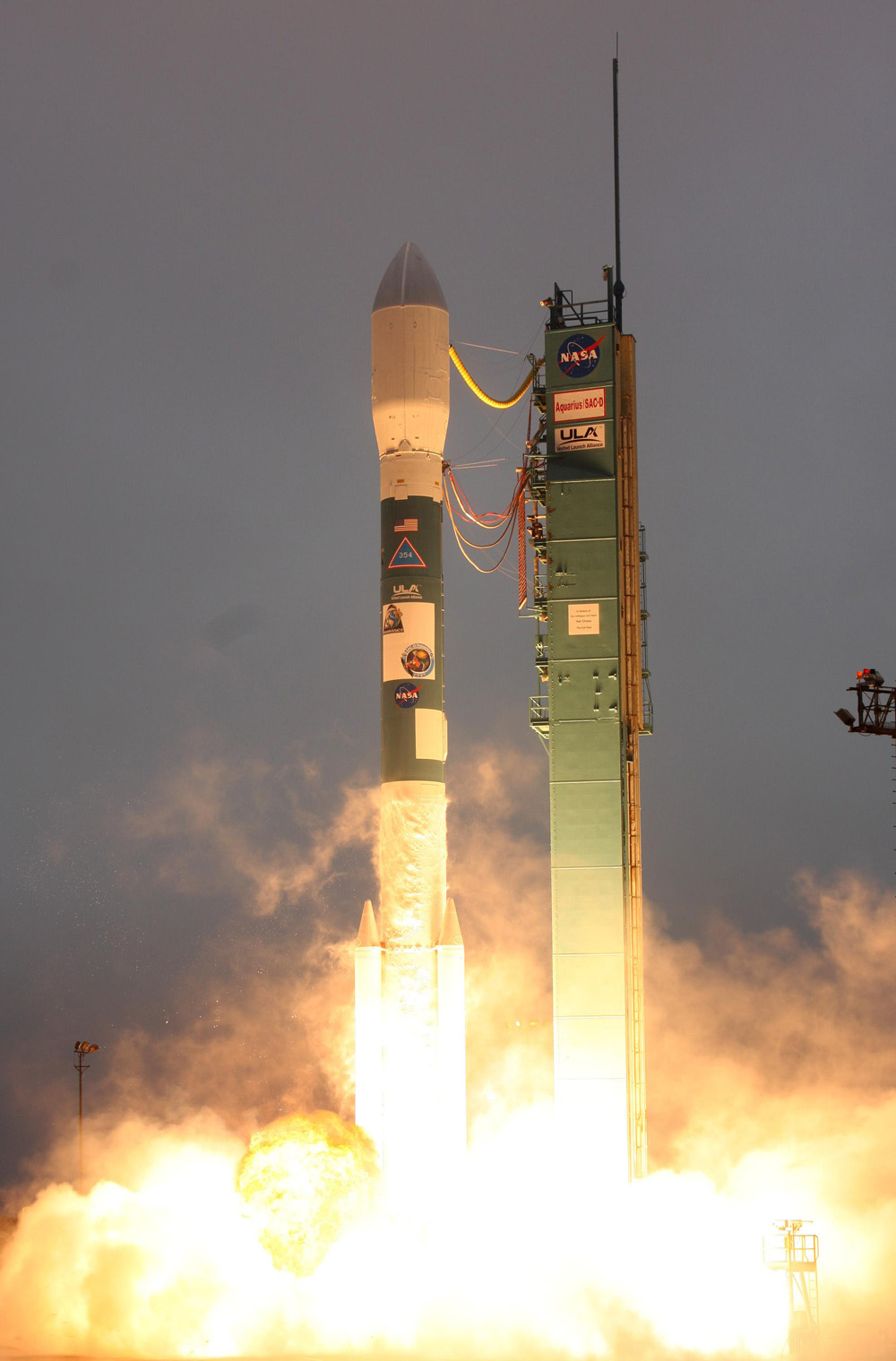 A rocket lifts off June 10 carrying Aquarius that will provide unprecedented global maps of ocean surface salinity.