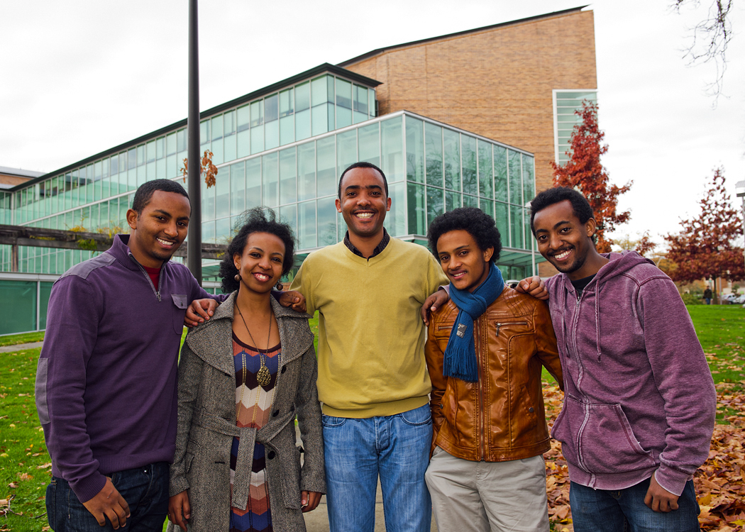 Law students from Ethiopia learn as part of nation building