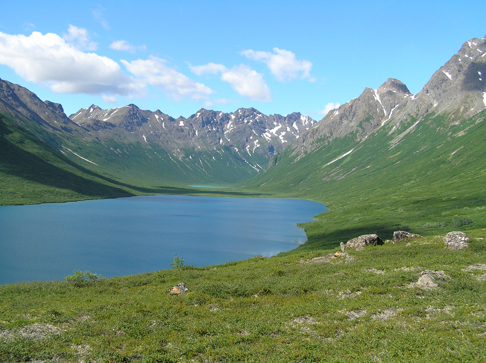 The chemical fingerprint of nitrogen pollution has been recorded for more than a century in High Lake, Southwest Alaska, and 24 other remote lakes in the Northern Hemisphere.