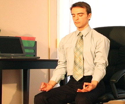 Research by UW Information School professors suggests that meditation training can help people working with information stay on tasks longer and also improves memory and reduces stress.
