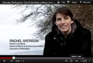 Rachel Aronson in video