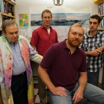 Some of the members of the Loeb lab who worked on the duplex sequencing: Dr. Lawrence Loeb, Dr. Scott Kennedy, Dr. Michael Schmitt, and Dr. Jesse Salk.