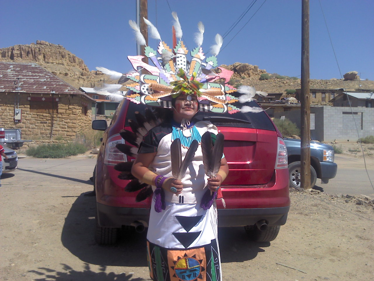a06db915965 Native health researcher bikes for Hopi Cancer Assistance Fund