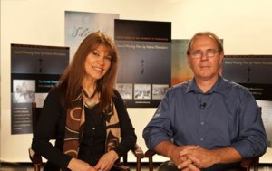 Charlotte Cote and Dan Hart host Voices of the First Peoples on UWTV