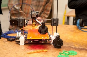 3-D printer and printed objects