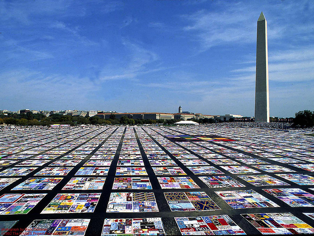 AIDS Memorial Quilt Washington CD 2007