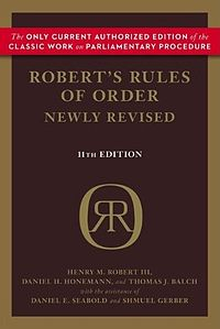 Roberts Rules of Order image for Documents that Changed the World Joe Janes podcast series