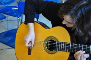 french guitar music at school of music