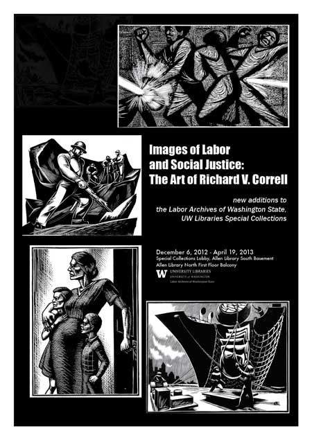 images of labor -- the work of Richard V. Correll at UW Libraries
