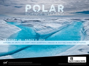 Polar Science Weekend poster