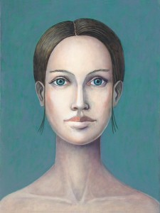 """""""Emily,"""" by David Brody. Part of the """"Faces ..."""" exhibit at the Prographica Gallery."""