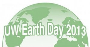 UW Earth Day logo 2013