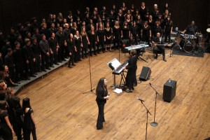 The UW Gospel Choir, directed by Phyllis Byrdwell, will perform June 3 in Meany Hall.