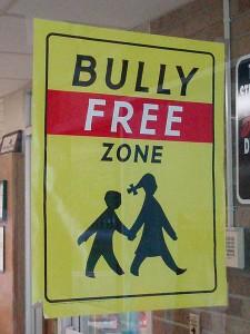 anti bullying sign