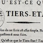 "The cover of the French pamphlet ""Qu'est-ce que le Tiers-État?'"