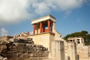 Knossos site Crete