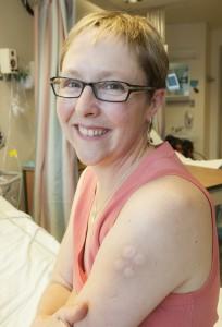 Alisa Higeg vaccine site.