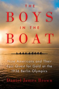 """The Boys in the Boat"" cover."