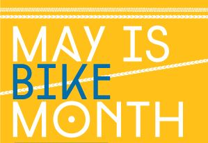 May is Bike Month logo 2013
