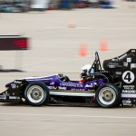 Racecar competing in Lincoln, Neb.