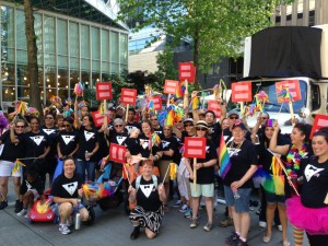 SCCA at Pride Parade