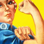 """""""We Can Do It!"""" poster for Westinghouse, closely associated with Rosie the Riveter."""